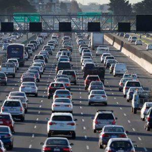 ترافیک در بزرگراه